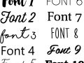 Fonts In Graphics